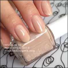 Essie Brides to Be - Essie Bridal 2015. Click on thru for full collection swatches at www.imabeautygeek.com