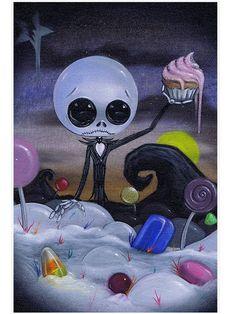 Idée; Jack à Candyland.