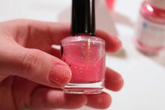 DIY Glitter Polish-- YAY!!