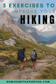 Hiking Workout Find out what 5 exercises you should be doing to help you hike longer and harder. Backpacking Tips, Hiking Tips, Hiking Gear, Hiking Backpack, Ultralight Backpacking, Hiking With Kids, Camping And Hiking, Estrada Real, Hiking Training