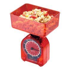 Μηχανική ζυγαριά σε κόκκινο χρώμα από την Kitchen Craft 500gr.