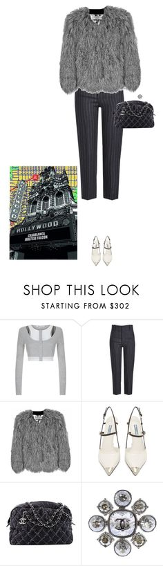 """Başlıksız #966"" by diaval ❤ liked on Polyvore featuring T By Alexander Wang, Étoile Isabel Marant, Florence Bridge, Prada, Chanel and Americanflat"