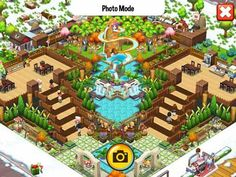 Make stairs in the restaurant use your creativity and if you are a interior designer then its funn🙂🙂 Food Street Game, Food Game, Hay Day, Isometric Art, Restaurant Design, Game Design, Layouts, Bakery, Creativity