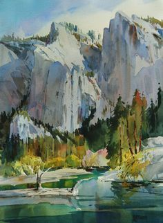 """Cathedral Shadows, Yosemite Valley"" by Dale Laitinen"