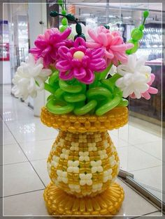 59 ideas for birthday balloons bouquet pictures Balloon Stands, Love Balloon, Balloon Flowers, Balloon Bouquet, Balloon Centerpieces, Balloon Decorations, Birthday Decorations, Balloons And More, Large Balloons