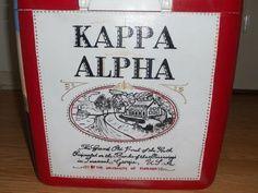 Kappa Alpha order painted coolers | KA Old South Cooler