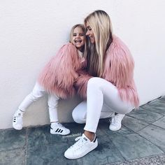 Image about girl in Mom And Baby, Mommy And Me, Mom Daughter, Cute Kids, Beautiful Outfits, Kids Fashion, Girl Outfits, Clothes, Future
