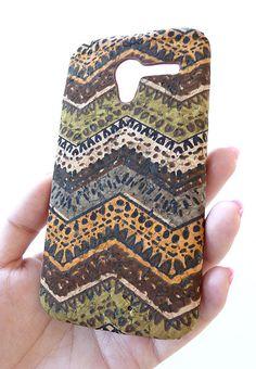 New Motorola Moto X Chevron Designer Wood Cork Case by Yunikuna, $35.00