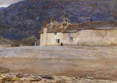 Helen Allingham - THE LAST HOUSE IN LYNMOUTH