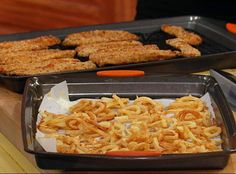 Buddy Valastro's Baked Chicken Fingers and Oven Baked Curly Fries  Recipe