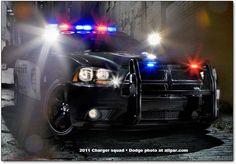 2011 Dodge Charger police pursuit car