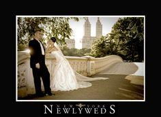 Bride by the Bow Bridge