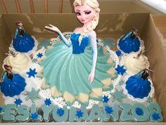 Gelatina de muñeca de Elsa; Frozen