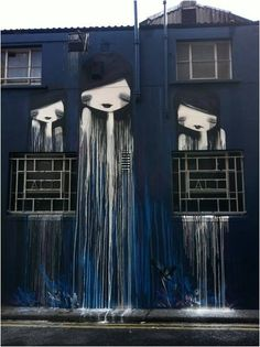 street artist Dermot McConagh (DMC) amazing work....located on St. Andrews Lane, Dublin