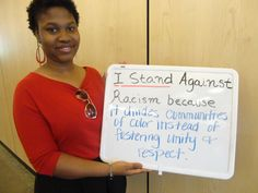 It divides communities of color instead of fostering unity and respect. #StandAgainstRacism
