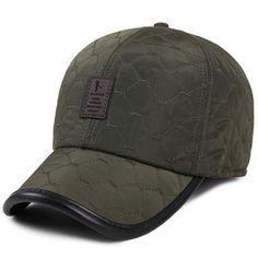 da65de13644 Baseball Cap for Men Ear Protection
