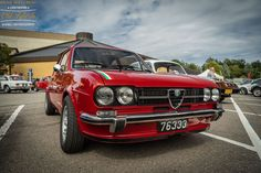 Alfa Romeo, Weekender, Alfasud Sprint, Car Photography, Luxembourg, Vintage Cars, Automobile, Classic, Cars