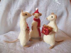 Christmas mouses  handmadebynovember