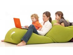 Yogibo: Cool, Huge, Most Comfortable Bean Bag Chair - I wish I could furnish my house with these!