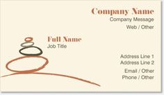 Brown Counseling Standard Business Cards, Modern Brown Standard Business Cards | Vistaprint