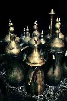 arabian coffee pots