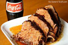 Six Sisters Slow Cooker Coca Cola BBQ Roast Beef