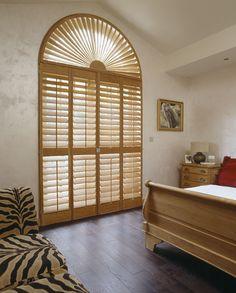 TNESC fanlight made from solid teak. Wooden Window Shutters, Interior Window Shutters, Interior Ideas, Interior Inspiration, Interior Design, Shutter Designs, Glass Building, Solar Shades, Fashion Room