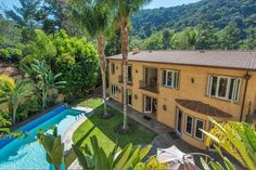 Lavish Mediterranean-Style Beverly Hills Estate