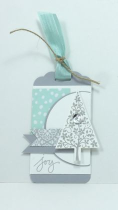Festival of Trees - gorgeous gift tag!