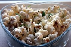 Parmesan Basil Popcorn | Community Post: 13 Crazy-Awesome Popcorn Recipes For Netflix Marathons