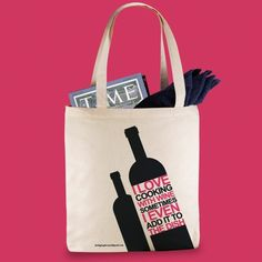 Totes, The Big Bag Theory, Cooking With Wine Tote