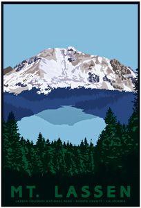 Lassen Volcanic NP: Mt Lassen, Southernmost Active Volcano in the Cascade Range