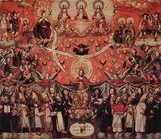 Patrocinio de San Jose, 1744. Gaspar Miguel de Berrío. Jesuitas. Pintura colonial de Chile - Wikipedia, la enciclopedia libre
