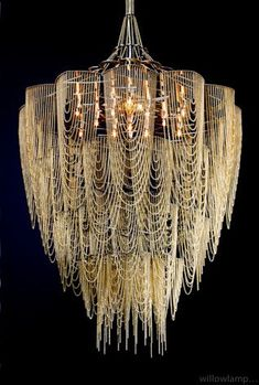 Gorgeous Willowlamp chandeliers
