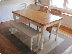 Awesome Dining Table with Bench