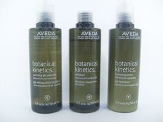 Botanical Kinetics: purifying gel cleanser, exfoliant and hydrating lotion Aveda Skin Care, Skincare For Oily Skin, Cleanser For Oily Skin, Cleanser And Toner, Oily Skin Care, Best Moisturizer, Oily Skin Remedy, Dry Skin Remedies, Exfoliating Face Scrub