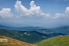 --- - Pinned by Mak Khalaf Landscapes Carpathian MountainsUkrainecloudslandscapemountains by petrus71
