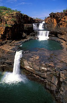 Great Ocean Road Itinerary: 14 Must-See Stops Mitchell Falls - Western Australia, Australia Places Around The World, Oh The Places You'll Go, Places To Travel, Places To Visit, Around The Worlds, Western Australia, Australia Travel, Queensland Australia, Mitchell Falls