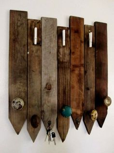 coat rack using old door knobs and fencing , I also wanted to show you a solution that worked for me! I saw this new weight loss product on CNN and I have lost 26 pounds so far. Check it out here http://weightpage222.com