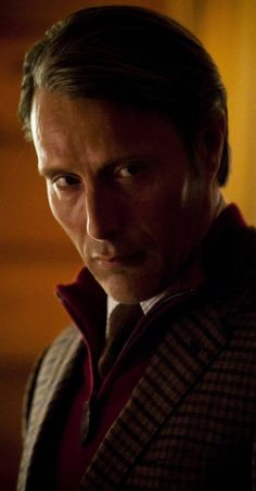 Mads Mikkelsen as Dr. Hannibal Lecter. *shivers* Uhnf! That stare.