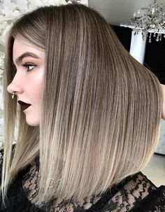 Bronde is one of the hilarious hair color trends to sport right now in 2018. It is suitable hair highlights for different hair lengths like short, long and medium haircuts. Just browse here and see how this hair colors look stunning and awesome nowadays.