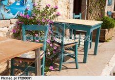 Typowy grecki taras | zdjęcie # 3055206 | Pixmac