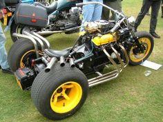 Essex V6 gearboxless trike