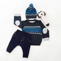 Some winter woolies for your little man. All available instore now.  #sparrowcouture #boysclothing #boystyle #kidstore