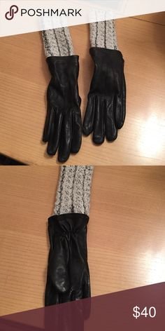 Echo brand gloves Echo brand sheepskin gloves size small with attached arm warmer extension Echo Accessories Gloves & Mittens