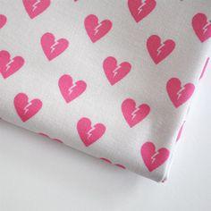 broken heart fabric