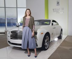 "Olivia Palermo Photos - Fashion Icon Olivia Palermo Receives a First Look at Rolls-Royce Motor Cars' Latest Design Creation, Wraith ""Inspired by Fashion"" During The Global Debut Of The Stunning New Motor Car At An Exclusive Event In The Heart Of New York City - Zimbio"