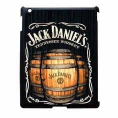 Jack daniels on black wood 2 iPad 4 Case