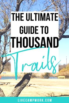 Thousand Trails Memberships: The Ultimate Guide Want cheap camping to live full-time in your RV and travel more? Get all the details you need to know about Thousand Trails Memberships that offer affordable camping all year! Camping Resort, Rv Camping, Camping Hacks, Rv Hacks, Camping Ideas, Glamping, Travel Careers, Best Rv Parks, Hiking Training