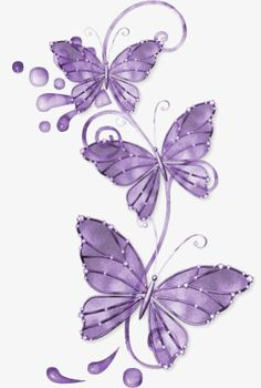 Purple butterfly PNG and Clipart Purple Butterfly Tattoo, Butterfly Clip Art, Butterfly Drawing, Butterfly Pictures, Butterfly Tattoo Designs, Glass Butterfly, Butterfly Wallpaper, Butterfly Wings, Beautiful Butterflies